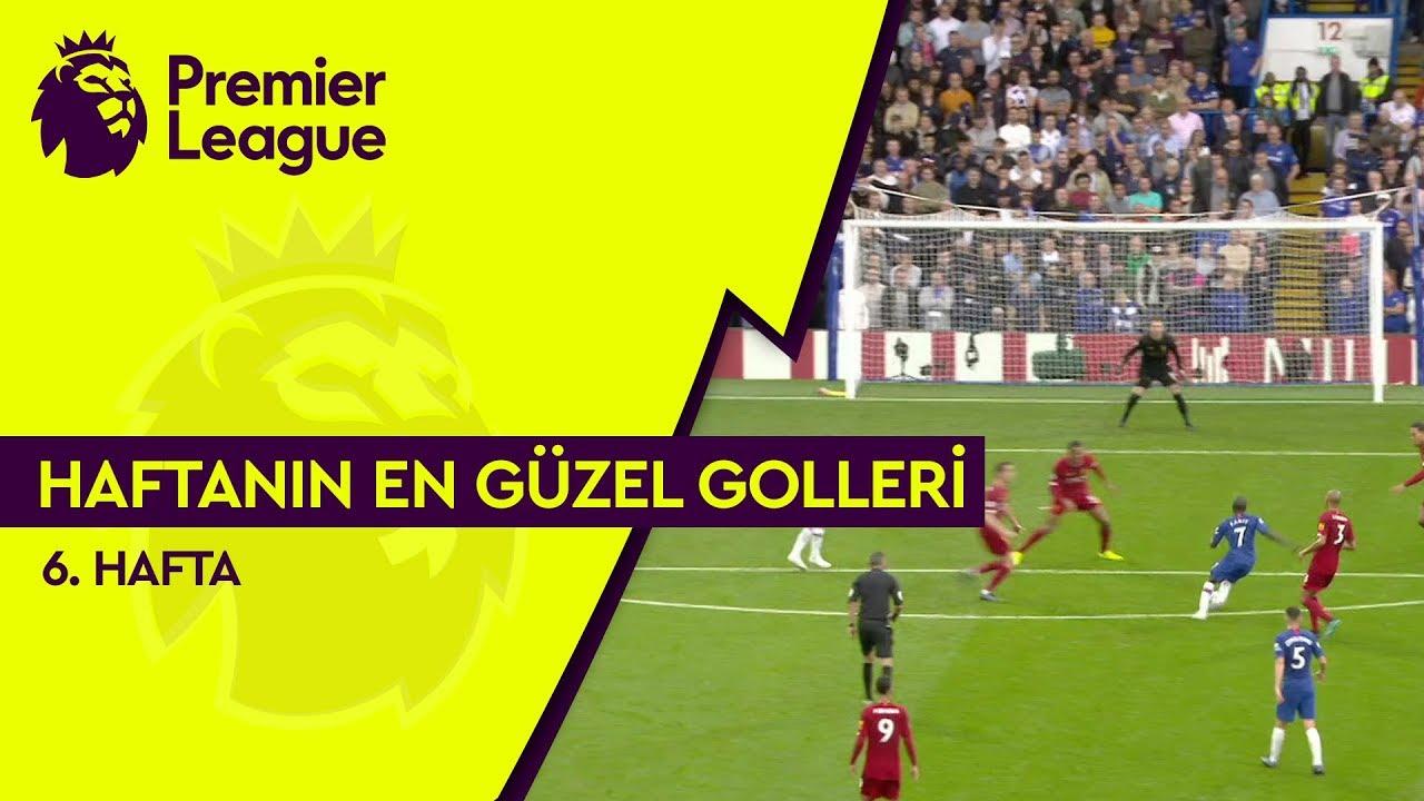 Premier League'de 6. Haftanın En Güzel Golleri (2019/20)