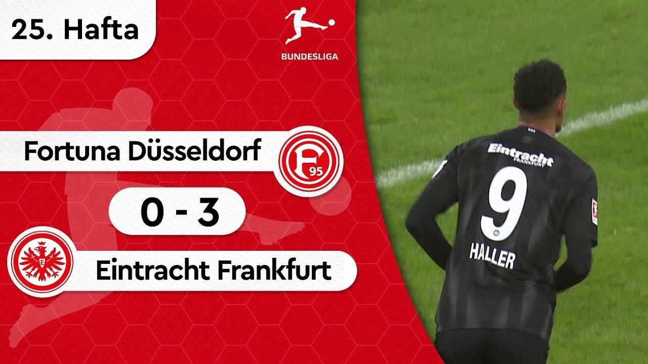 Fortuna Düsseldorf - Eintracht Frankfurt (0-3) - Maç Özeti - Bundesliga 2018/19