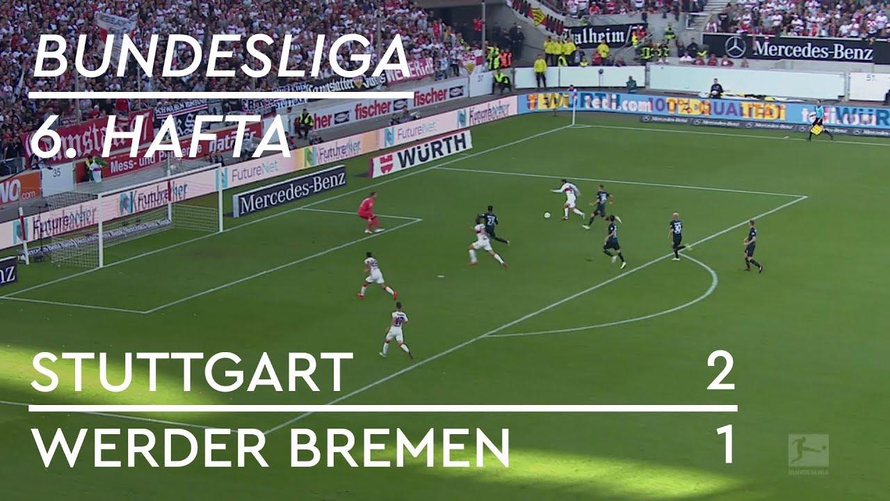 Stuttgart - Werder Bremen (2-1) - Maç Özeti - Bundesliga 2018/19