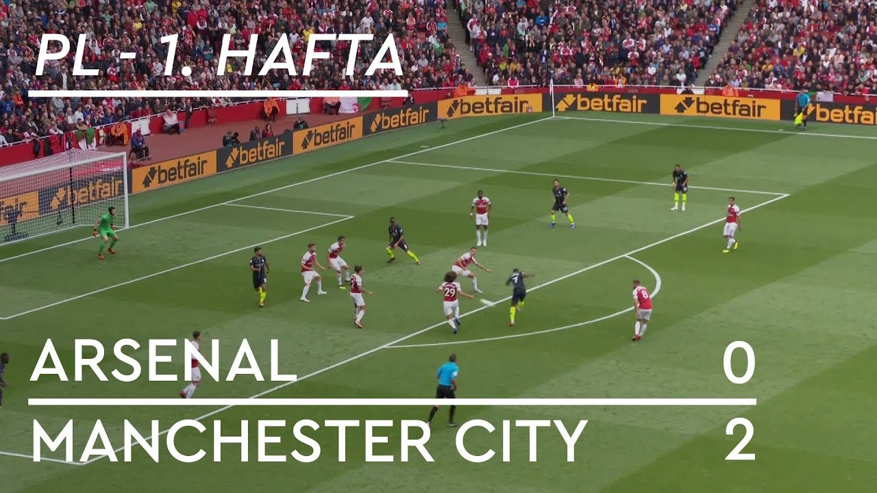 Arsenal - Manchester City (0-2) - Maç Özeti - Premier League 2018/19