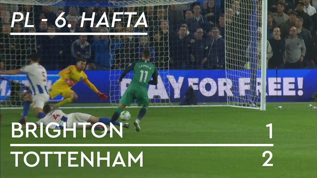 Brighton - Tottenham (1-2) - Maç Özeti - Premier League 2018/19