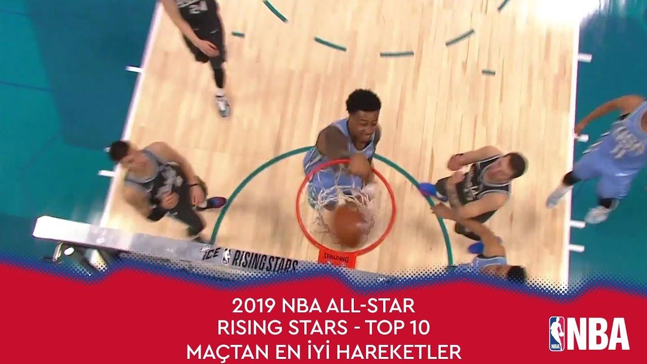 NBA All-Star 2019 Yükselen Yıldızlar Maçı | Top 10 Hareket