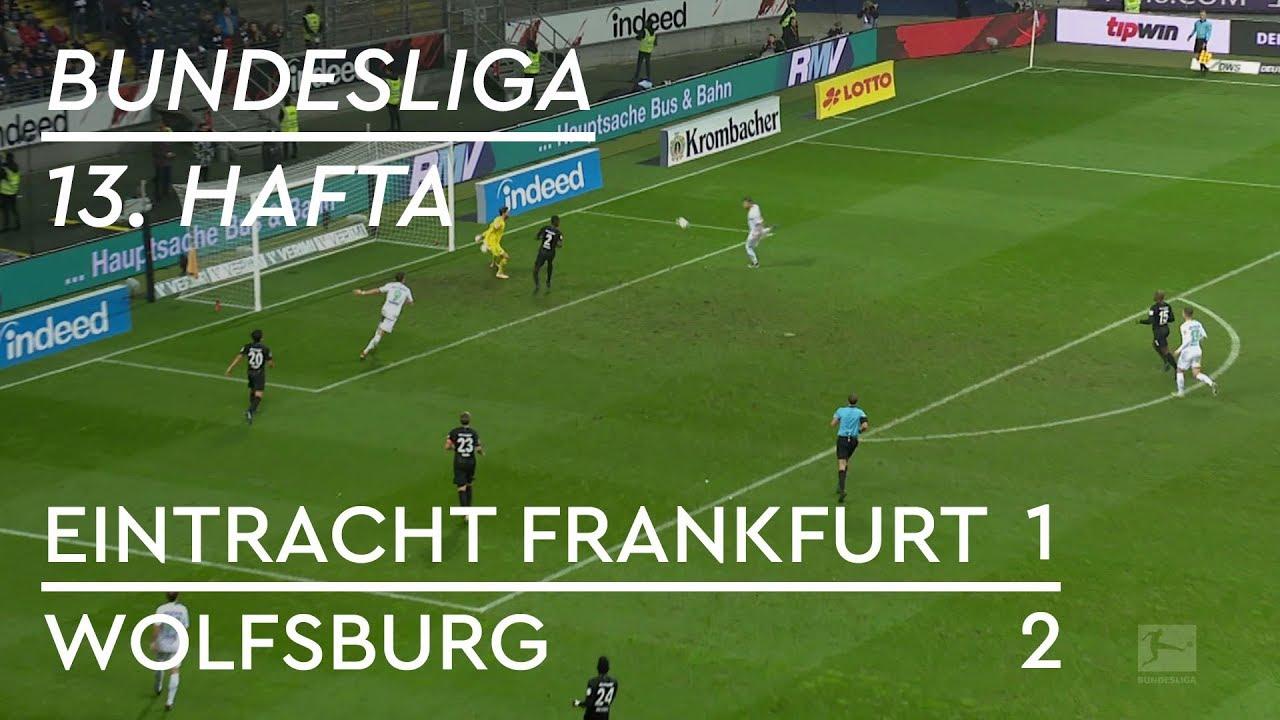 Eintracht Frankfurt - Wolfsburg (1-2) - Maç Özeti - Bundesliga 2018/19
