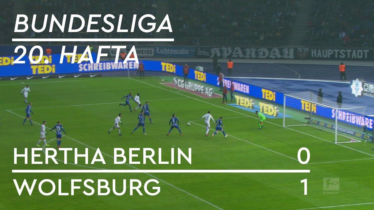 Hertha Berlin - Wolfsburg (0-1) - Maç Özeti - Bundesliga 2018/19 - Türçe Anlatım