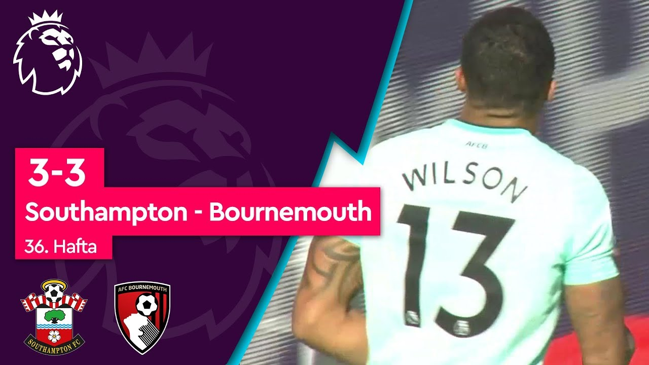 Southampton - Bournemouth (3-3) - Maç Özeti - Premier League 2018/19