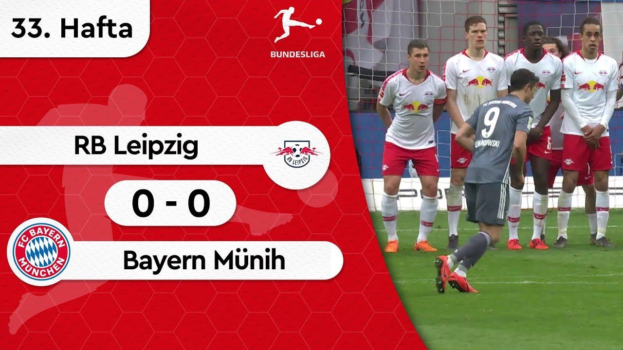 RB Leipzig - Bayern Münih (0-0) - Maç Özeti - Bundesliga 2018/19