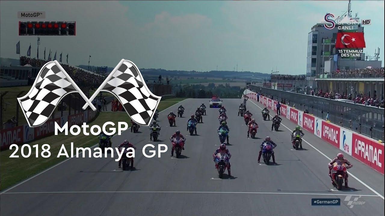 Start'ın Kazananı Lorenzo (2018 MotoGP - Almanya Grand Prix)
