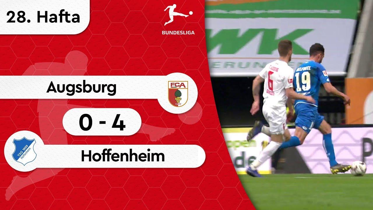 Augsburg - Hoffenheim (0-4) - Maç Özeti - Bundesliga 2018/19