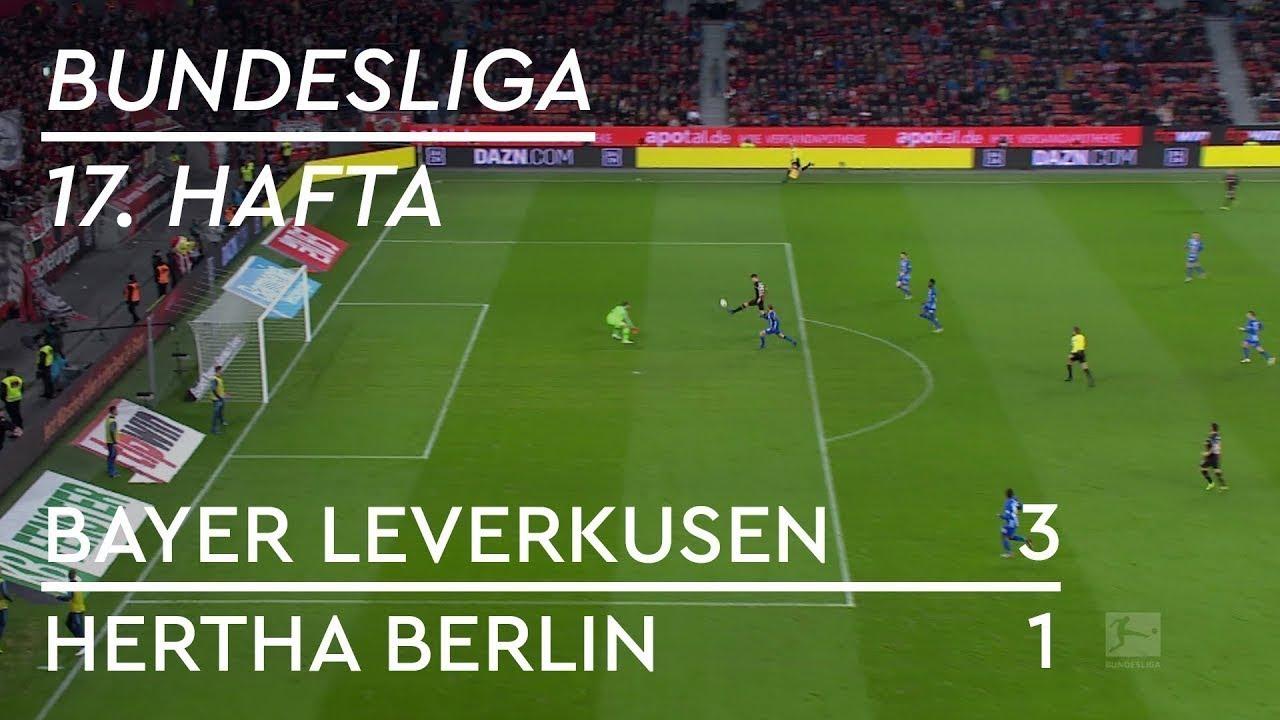 Bayer Leverkusen - Hertha Berlin (3-1) - Maç Özeti - Bundesliga 2018/19 - Türkçe Anlatım