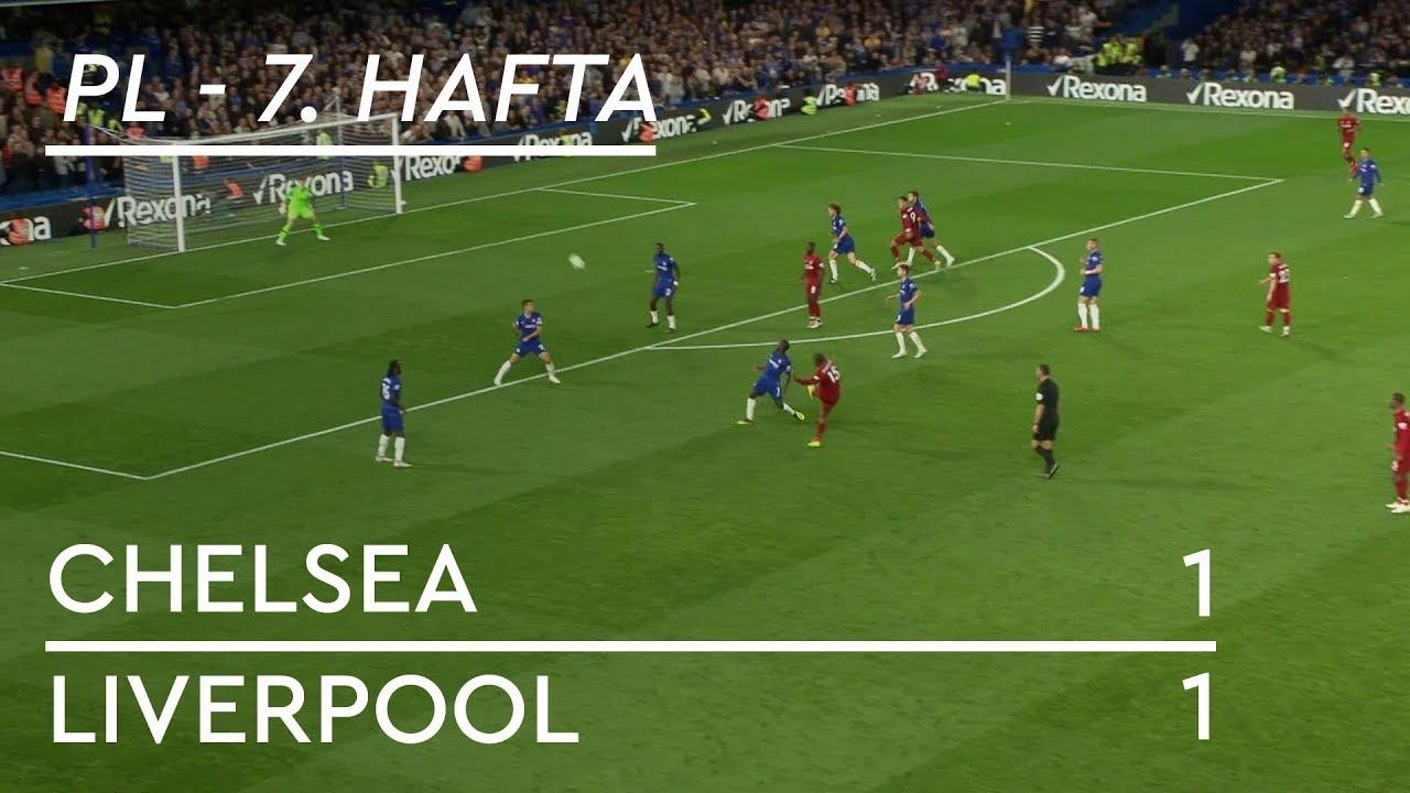 Chelsea - Liverpool (1-1) - Maç Özeti - Premier League 2018/19