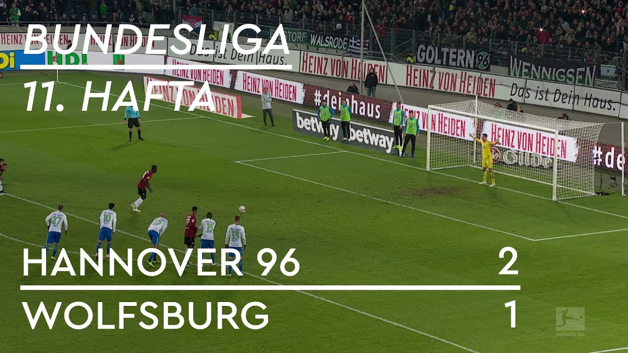 Hannover 96 - Wolfsburg (2-1) - Maç Özeti - Bundesliga 2018/19