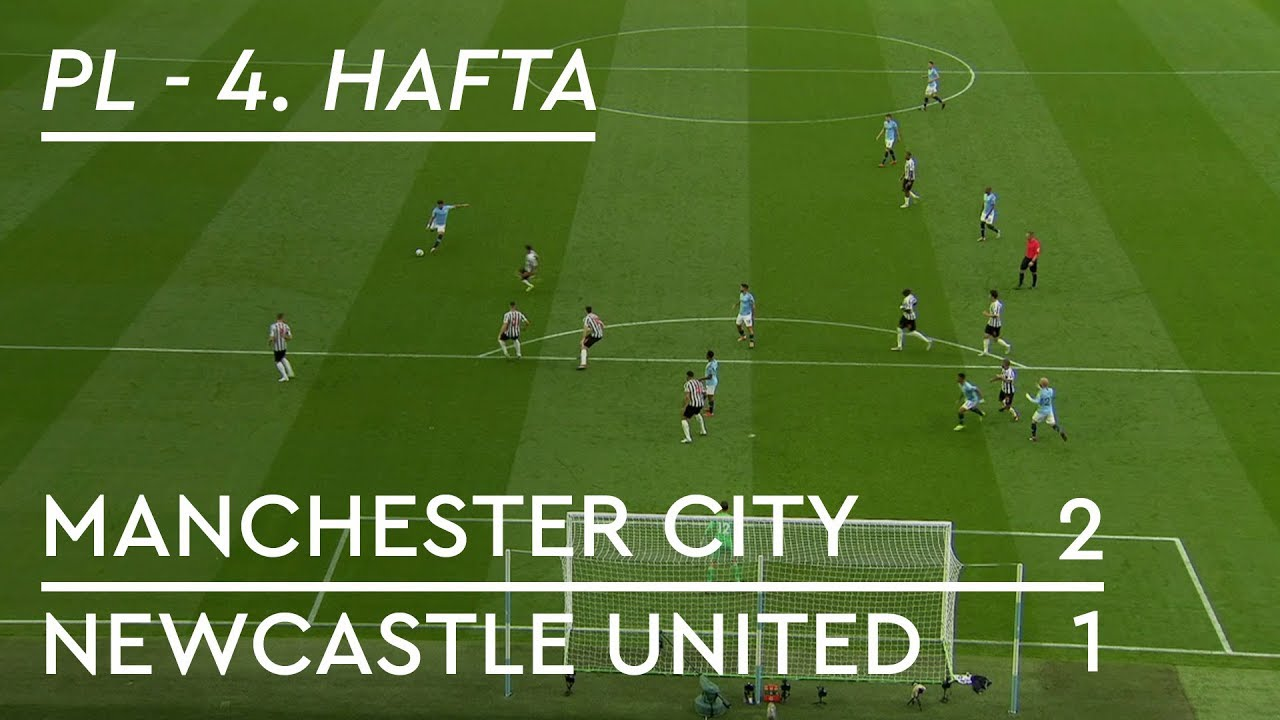 Manchester City - Newcastle United (2-1) - Maç Özeti - Premier League 2018/19