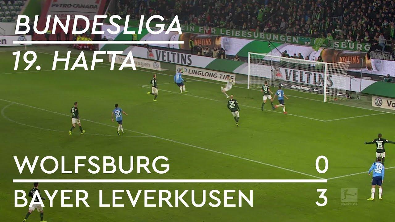 Wolfsburg - Bayer Leverkusen (0-3) - Maç Özeti - Bundesliga 2018/19