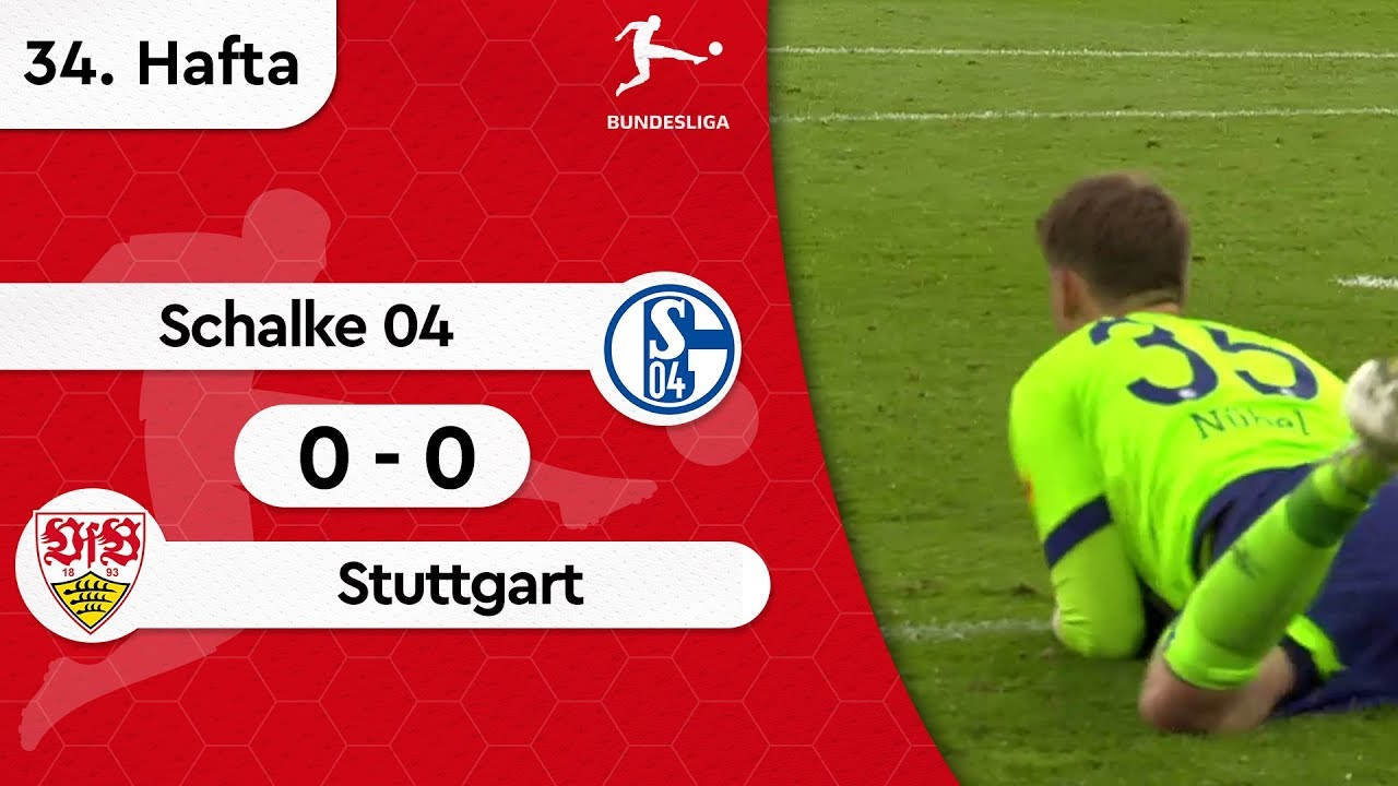 Schalke 04 - Stuttgart (0-0) - Maç Özeti - Bundesliga 2018/19