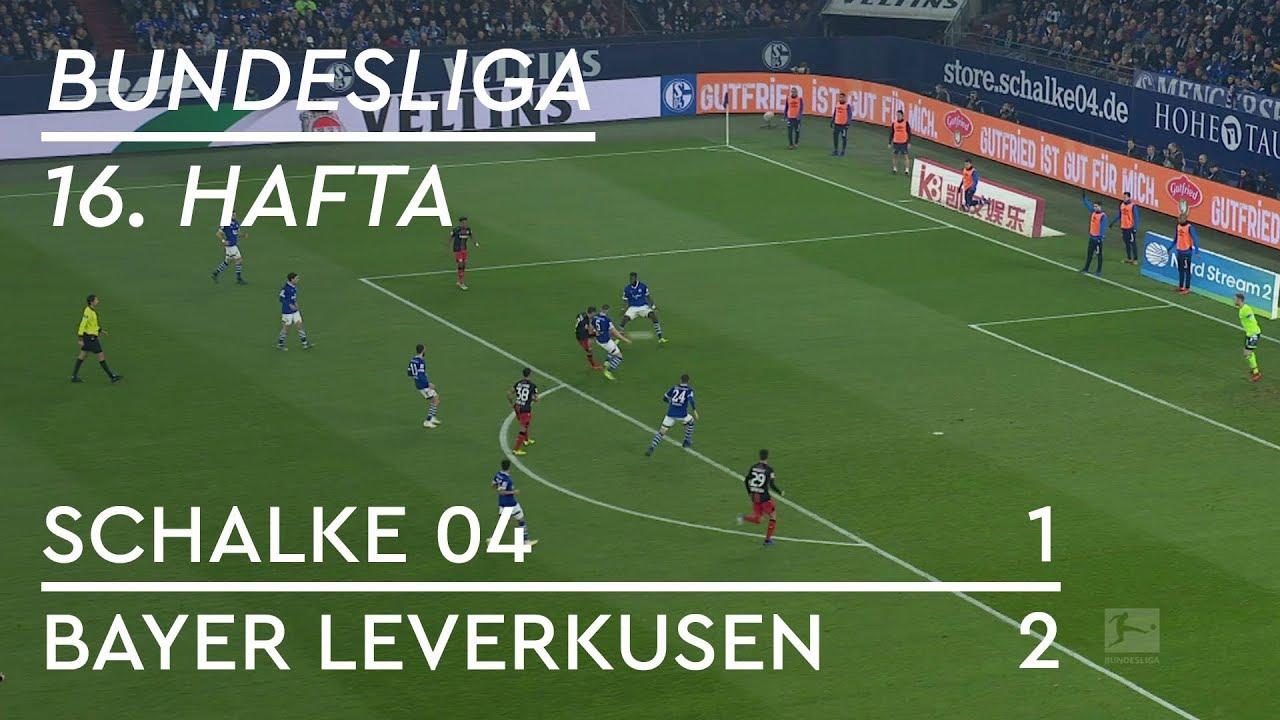Schalke 04 - Bayer Leverkusen (1-2) - Maç Özeti - Bundesliga 2018/19