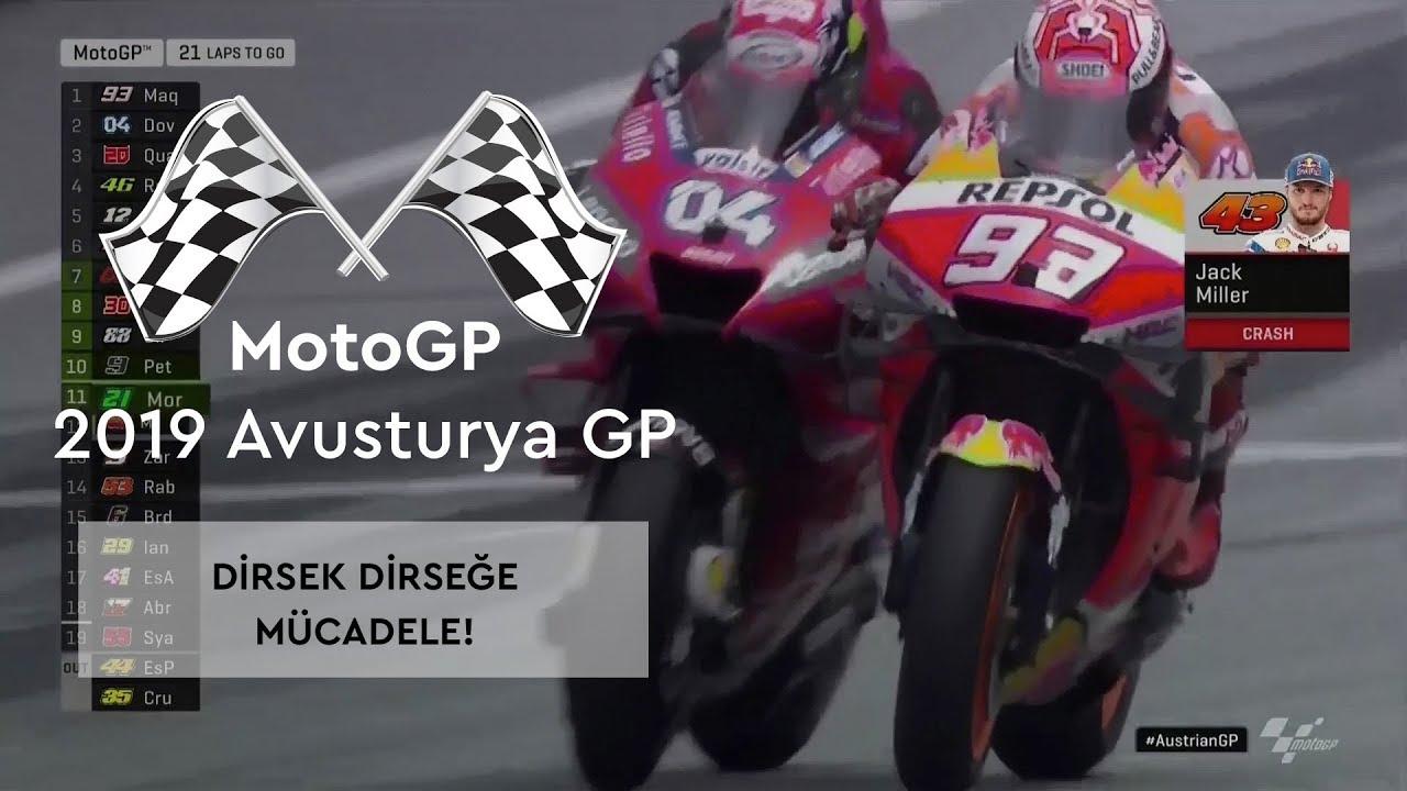 Dirsek Dirseğe Mücadele! (MotoGP 2019 - Avusturya Grand Prix)