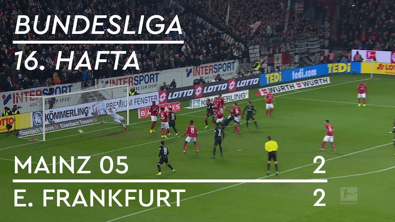 Mainz 05 - Eintracht Frankfurt (2-2) - Maç Özeti - Bundesliga 2018/19