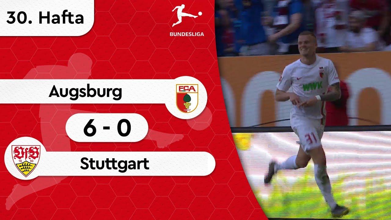 Augsburg - Stuttgart (6-0) - Maç Özeti - Bundesliga 2018/19