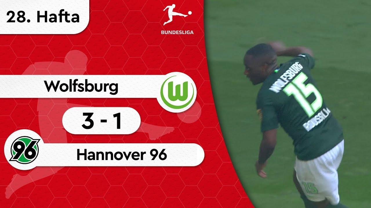 Wolfsburg - Hannover 96 (3-1) - Maç Özeti - Bundesliga 2018/19