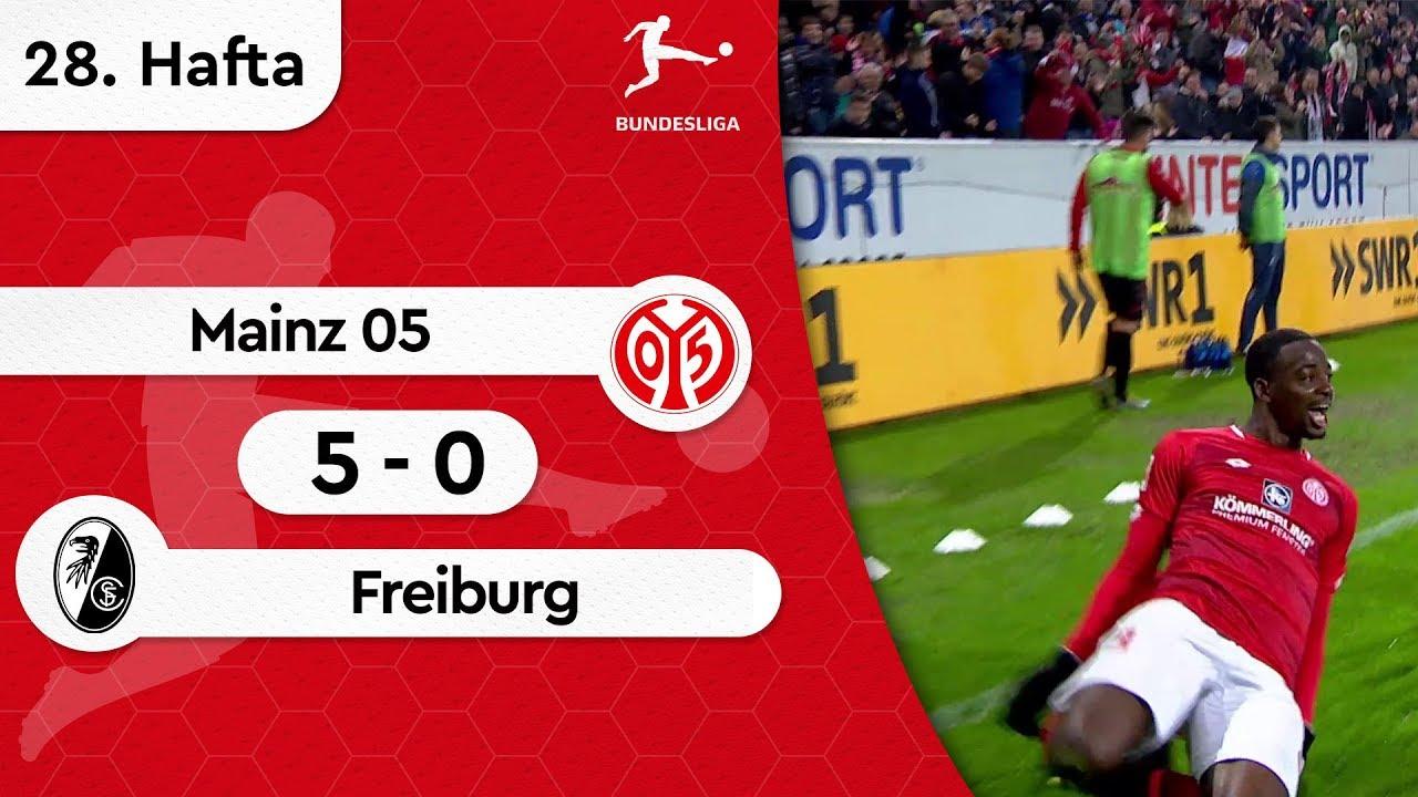Mainz 05 - Freiburg (5-0) - Maç Özeti - Bundesliga 2018/19
