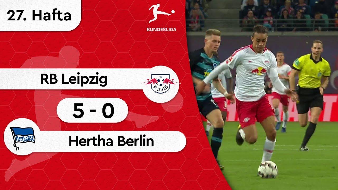 RB Leipzig - Hertha Berlin (5-0) - Maç Özeti - Bundesliga 2018/19