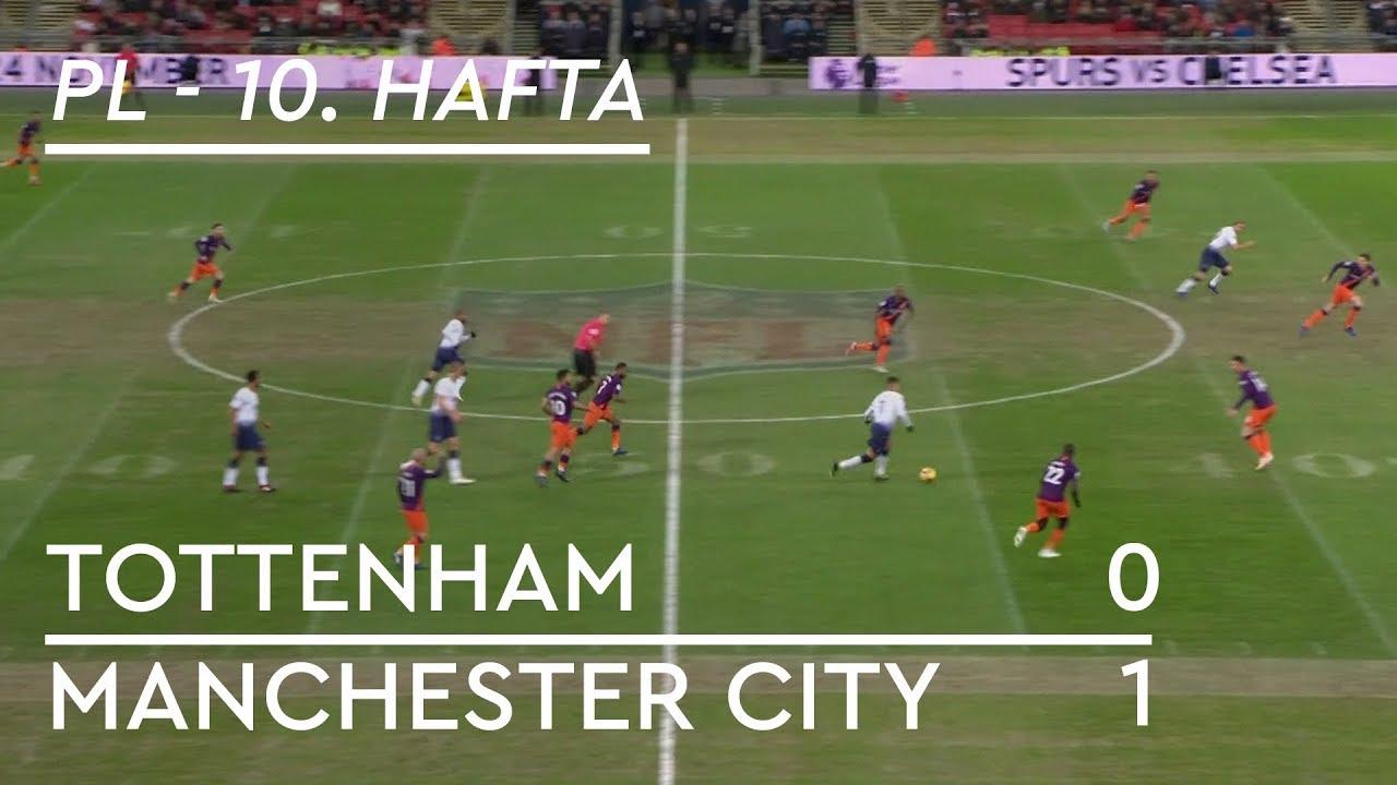 Tottenham - Manchester City (0-1) - Maç Özeti - Premier League 2018/19