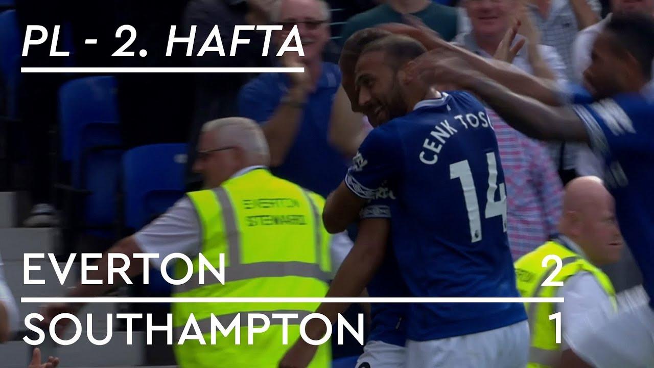 Everton - Southampton (2-1) - Maç Özeti - Premier League 2018/19