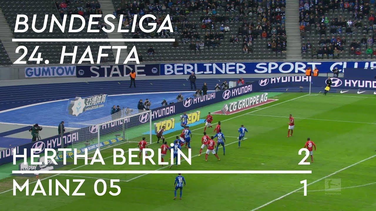 Hertha Berlin - Mainz 05 (2-1) - Maç Özeti - Bundesliga 2018/19