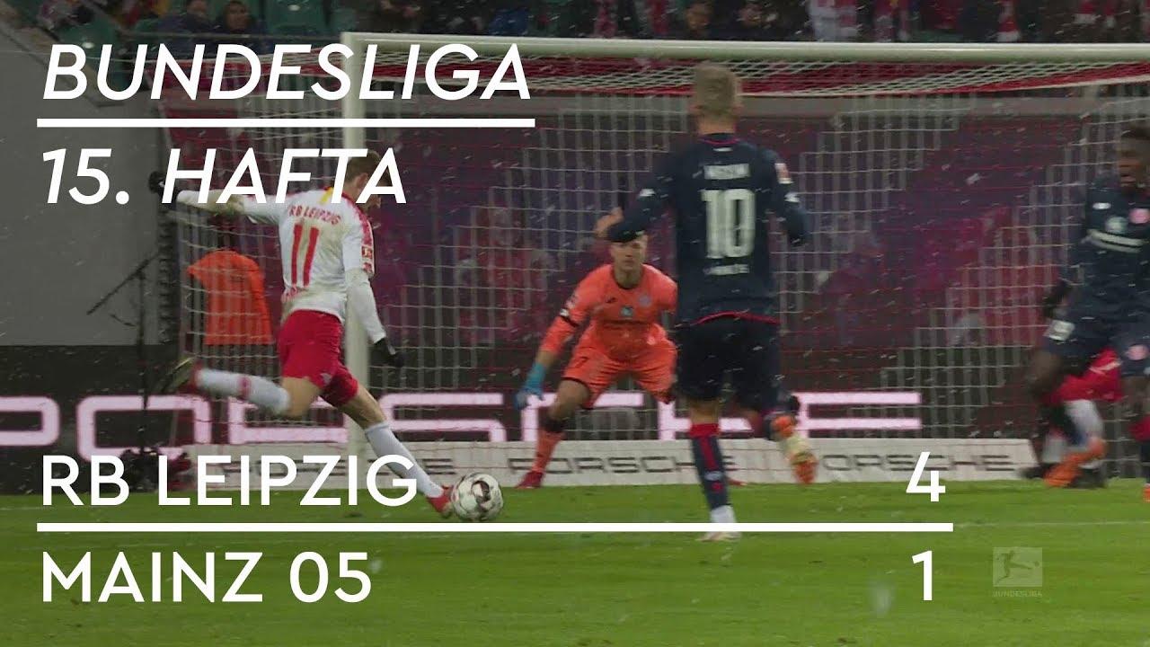 RB Leipzig - Mainz 05 (4-1) - Maç Özeti - Bundesliga 2018/19