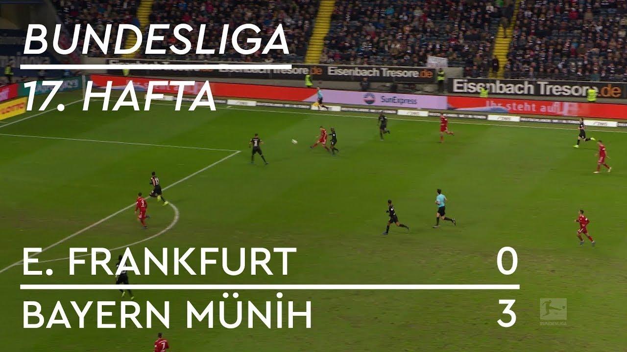 Eintracht Frankfurt - Bayern Münih (0-3) - Maç Özeti - Bundesliga 2018/19 - Türkçe Anlatım
