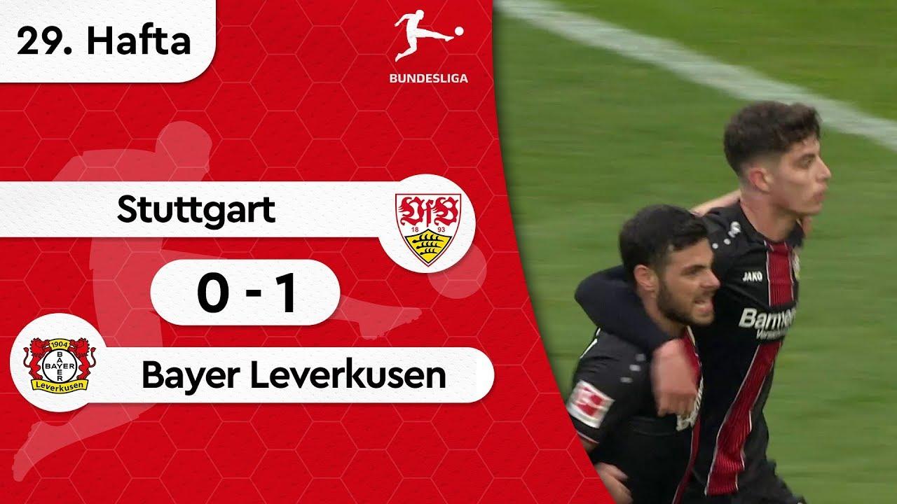 Stuttgart - Bayer Leverkusen (0-1) - Maç Özeti - Bundesliga 2018/19