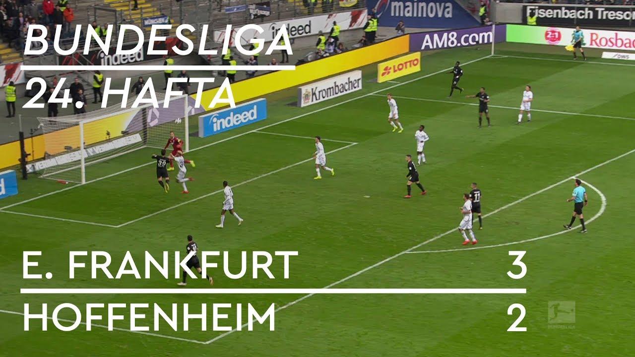 Eintracht Frankfurt - Hoffenheim (3-2) - Maç Özeti - Bundesliga 2018/19