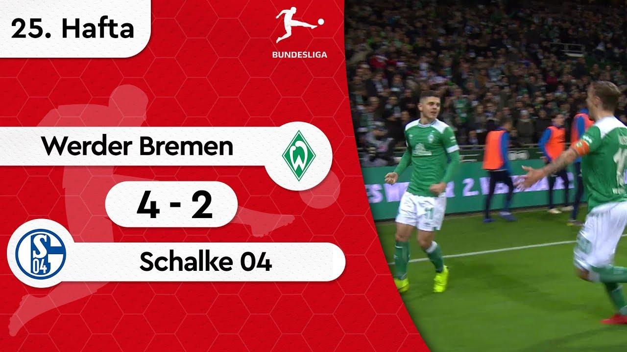 Werder Bremen - Schalke 04 (4-2) - Maç Özeti - Bundesliga 2018/19