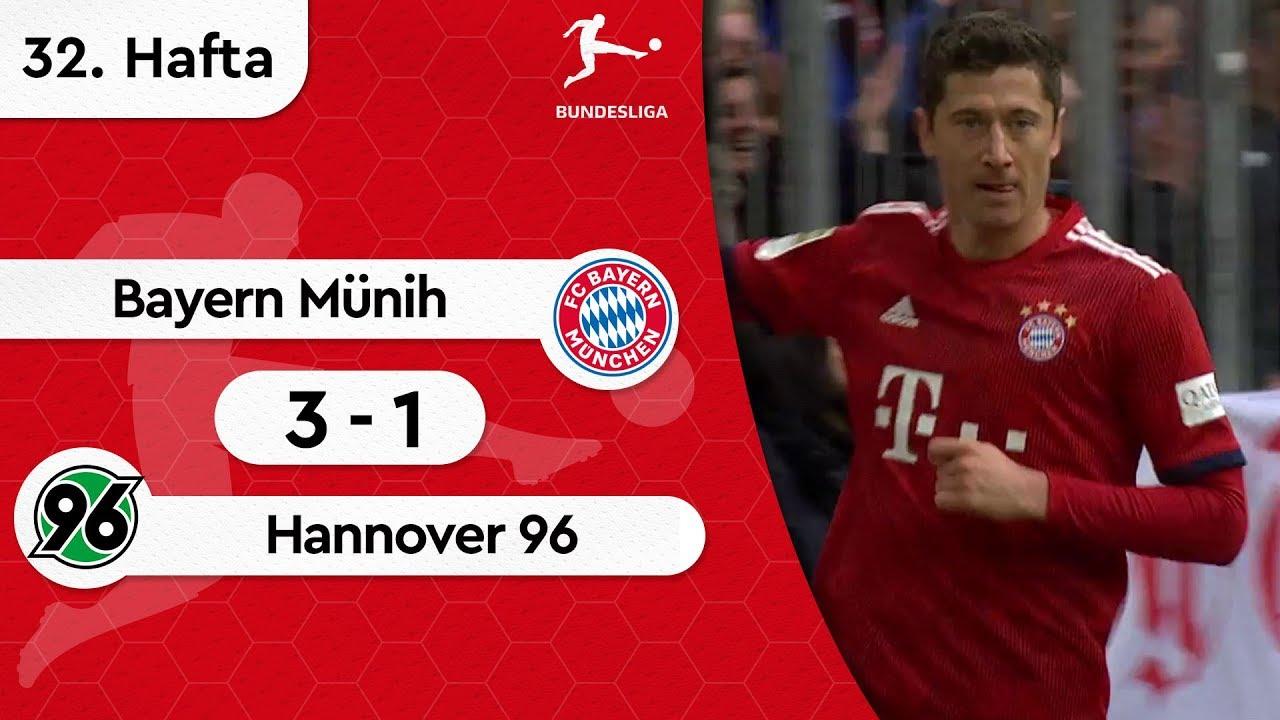 Bayern Münih - Hannover 96 (3-1) - Maç Özeti - Bundesliga 2018/19