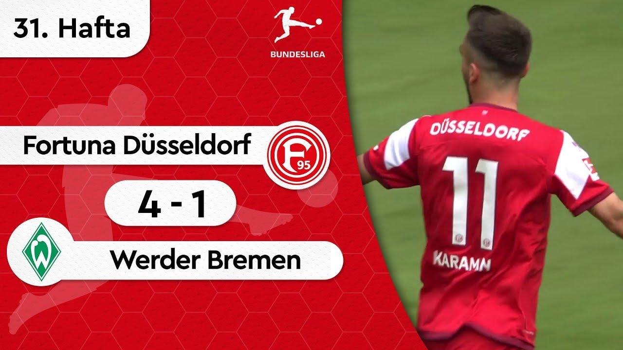 Fortuna Düsseldorf - Werder Bremen (4-1) - Maç Özeti - Bundesliga 2018/19
