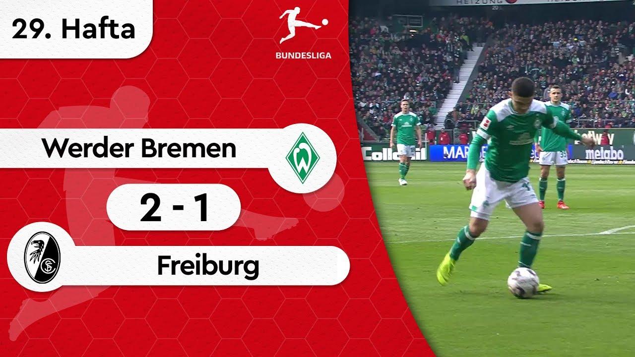 Werder Bremen - Freiburg (2-1) - Maç Özeti - Bundesliga 2018/19