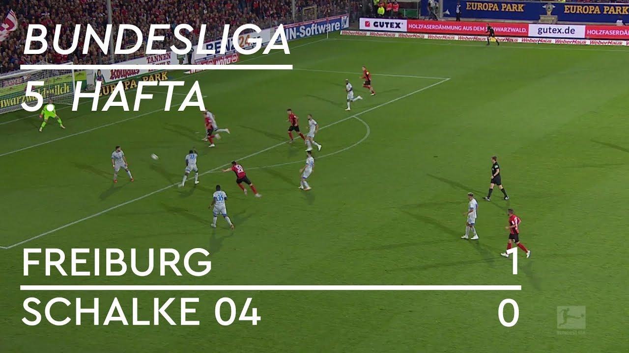 Freiburg - Schalke 04 (1-0) - Maç Özeti - Bundesliga 2018/19