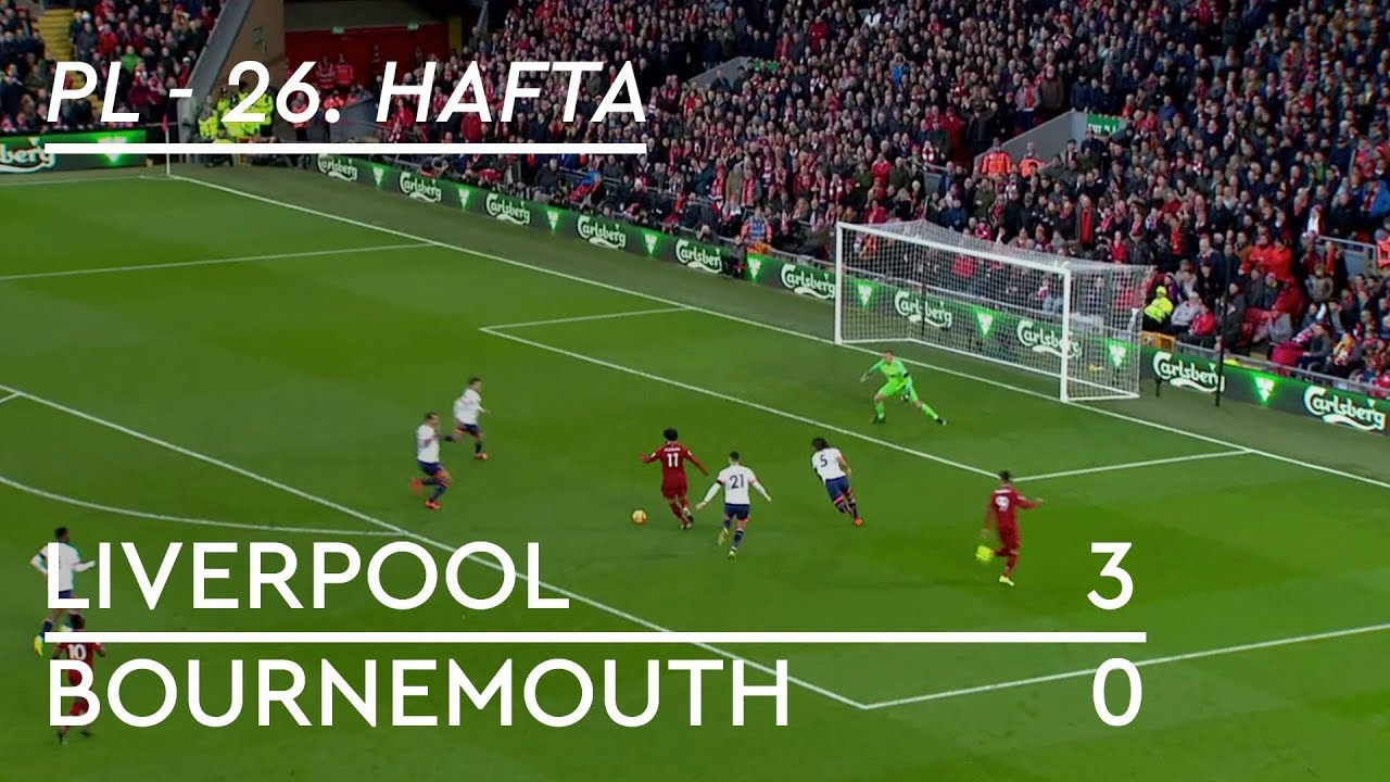 Liverpool - Bournemouth (3-0) - Maç Özeti - Premier League 2018/19