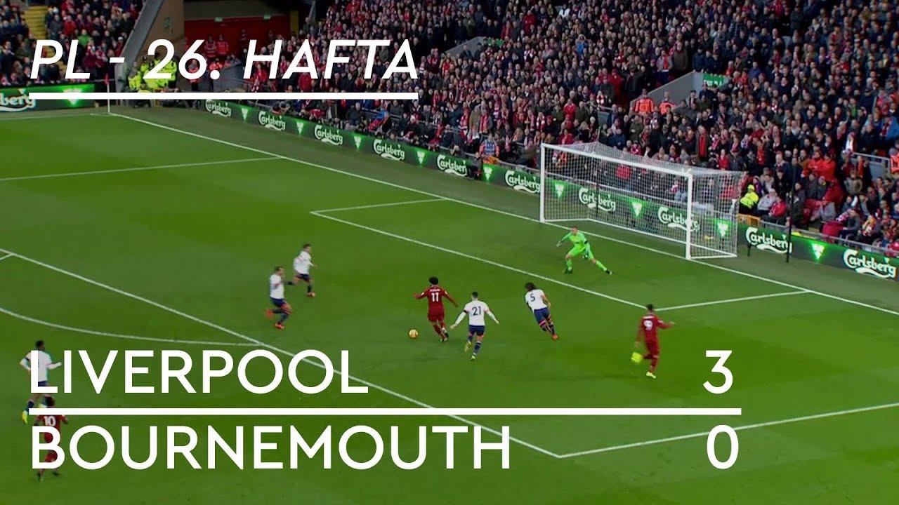 Liverpool - Bournemouth (3-0) - Maç Özeti - Premier League 2018/19