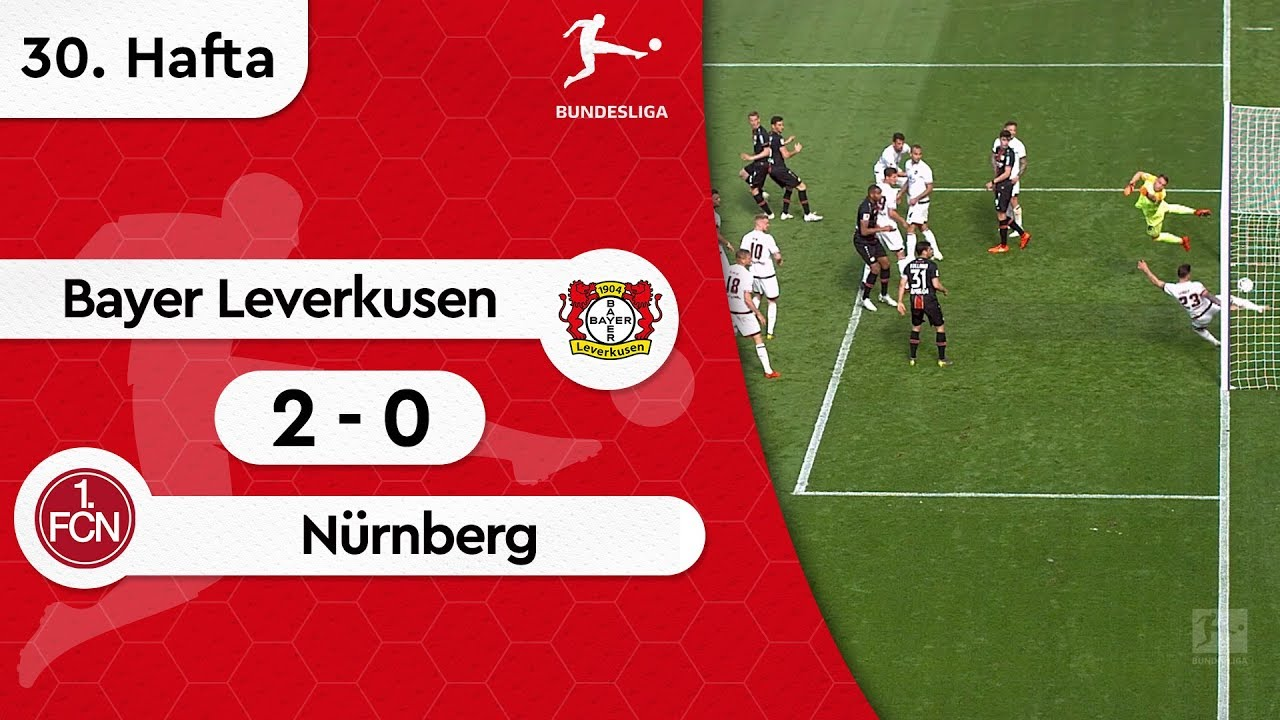 Bayer Leverkusen - Nürnberg (2-0) - Maç Özeti - Bundesliga 2018/19