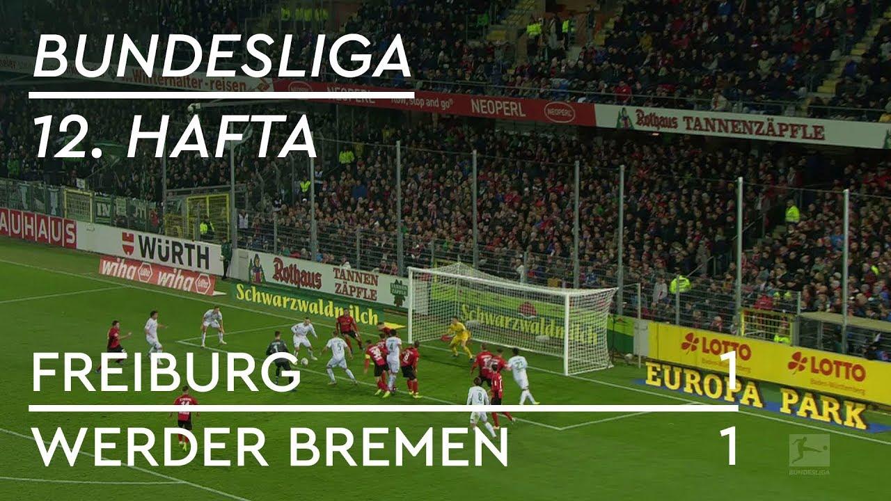 Freiburg - Werder Bremen (1-1) - Maç Özeti - Bundesliga 2018/19