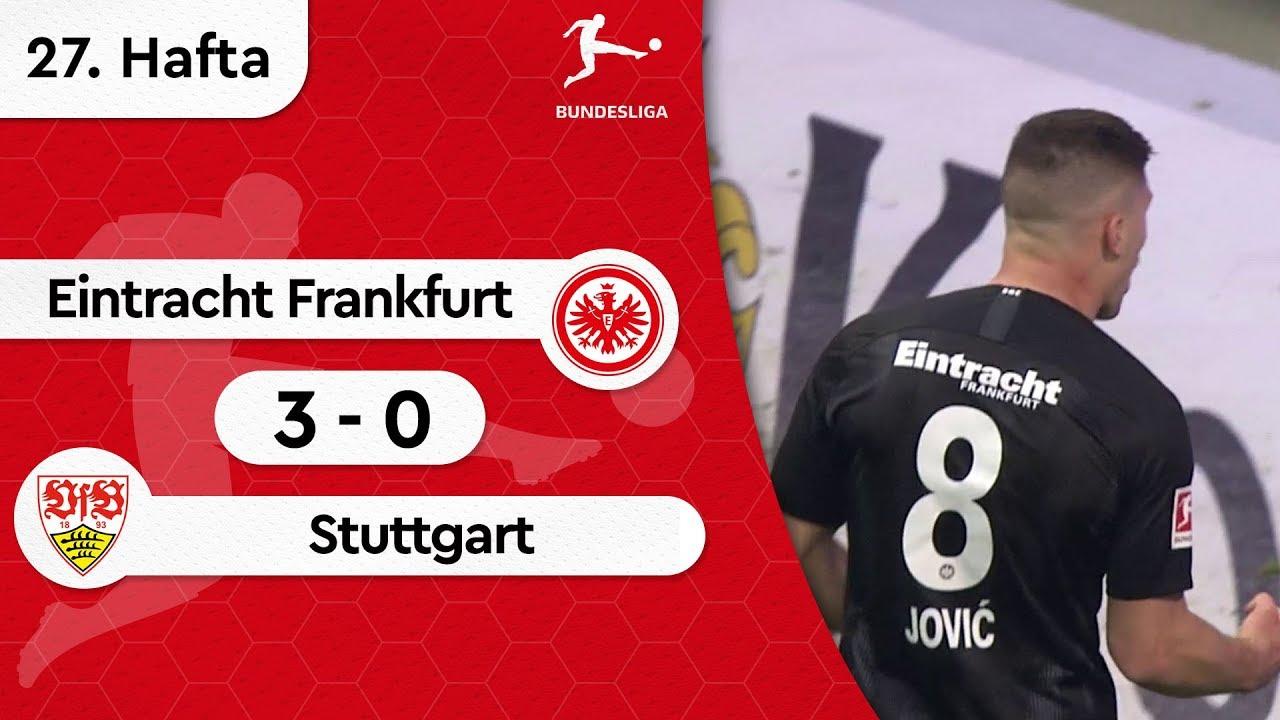 Eintracht Frankfurt - Stuttgart (3-0) - Maç Özeti - Bundesliga 2018/19