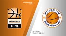 ratiopharm Ulm - Maccabi Rishon Lezion Highlights | 7DAYS EuroCup, RS Round 5