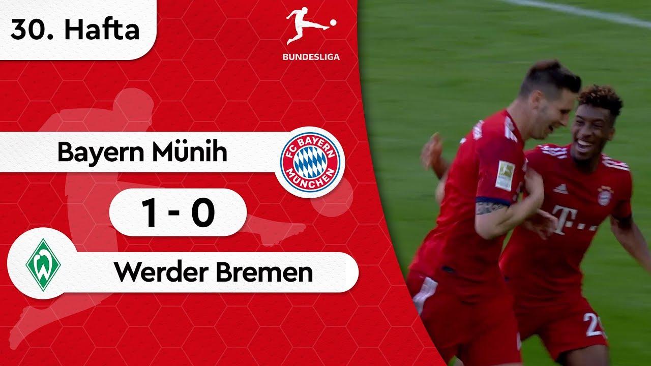 Bayern Münih - Werder Bremen (1-0) - Maç Özeti - Bundesliga 2018/19