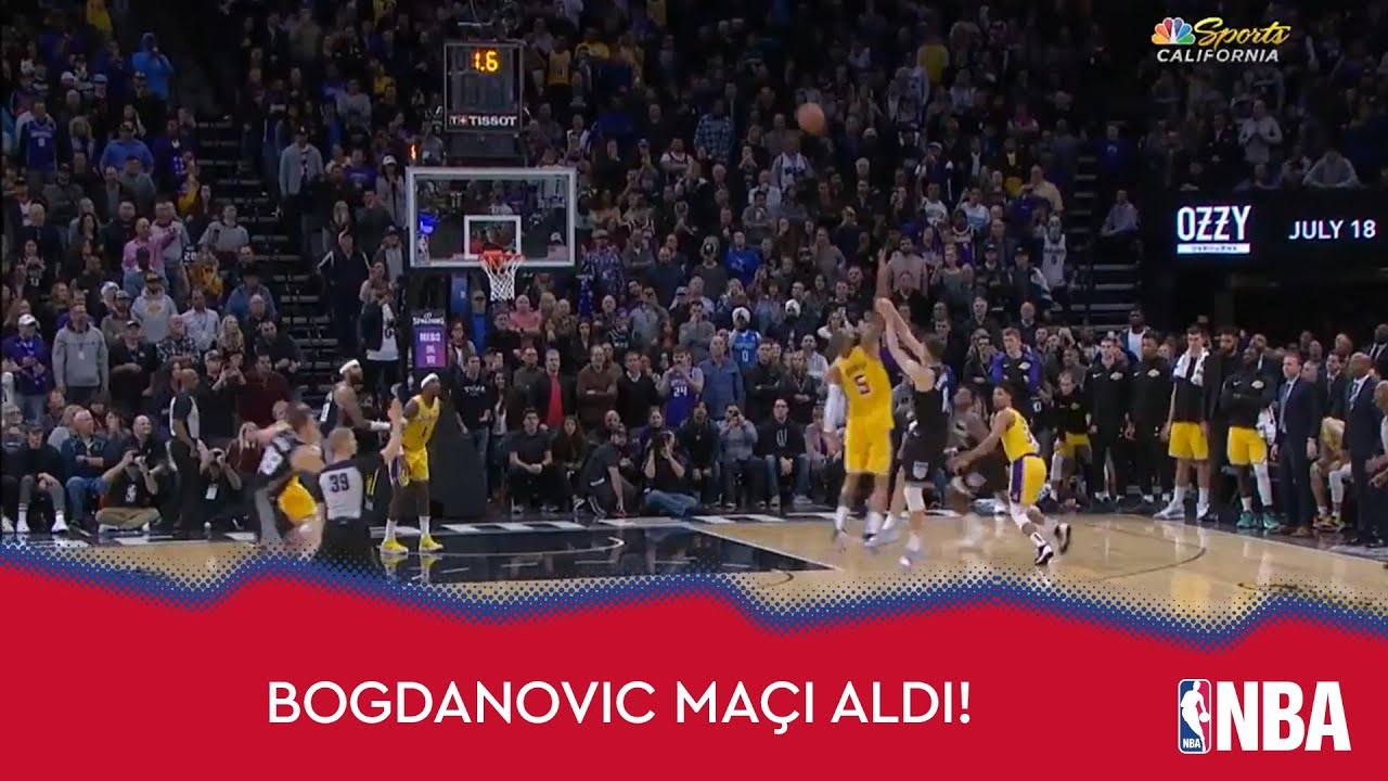 Bogdan Bogdanovic'ten 23 Sayı + Game Winner!