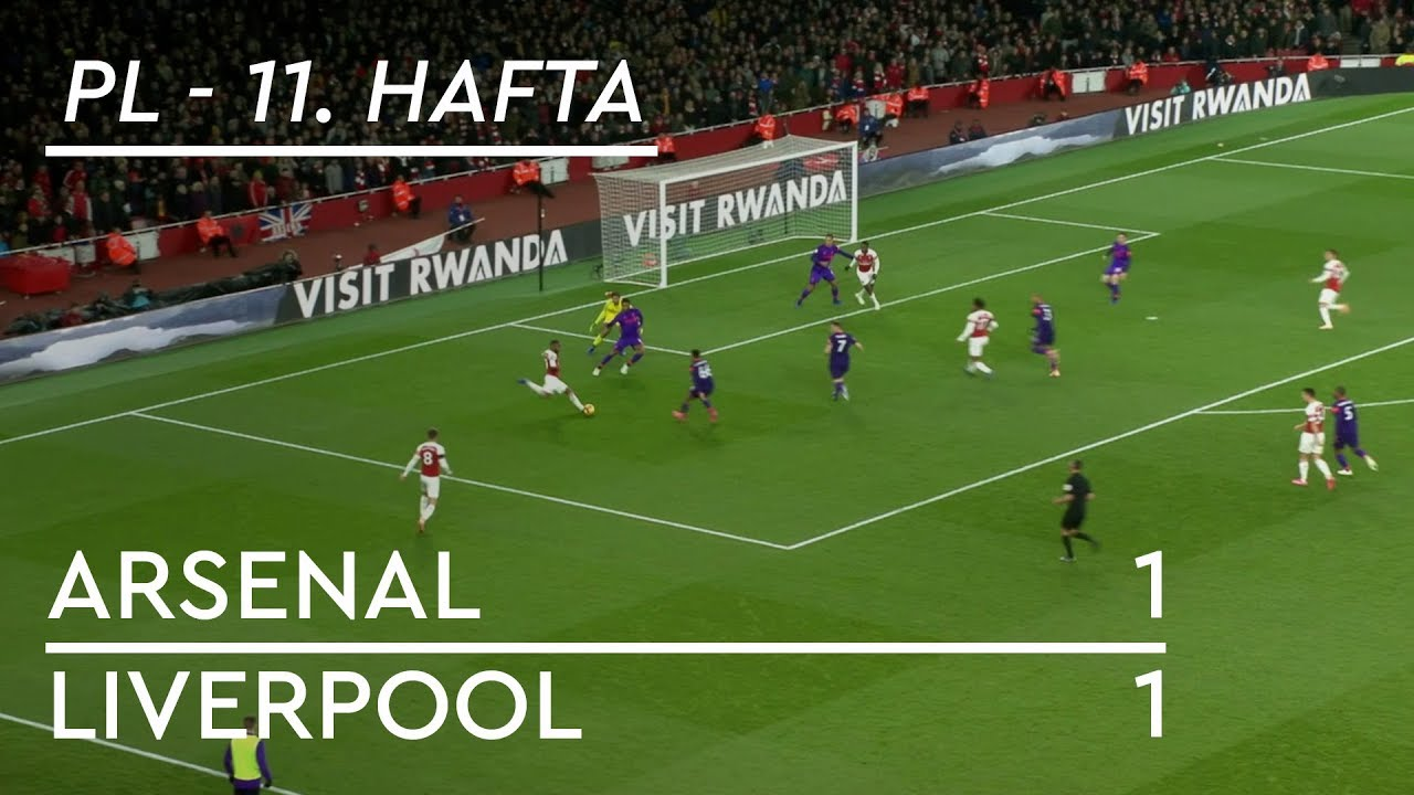 Arsenal - Liverpool (1-1) - Maç Özeti - Premier League 2018/19