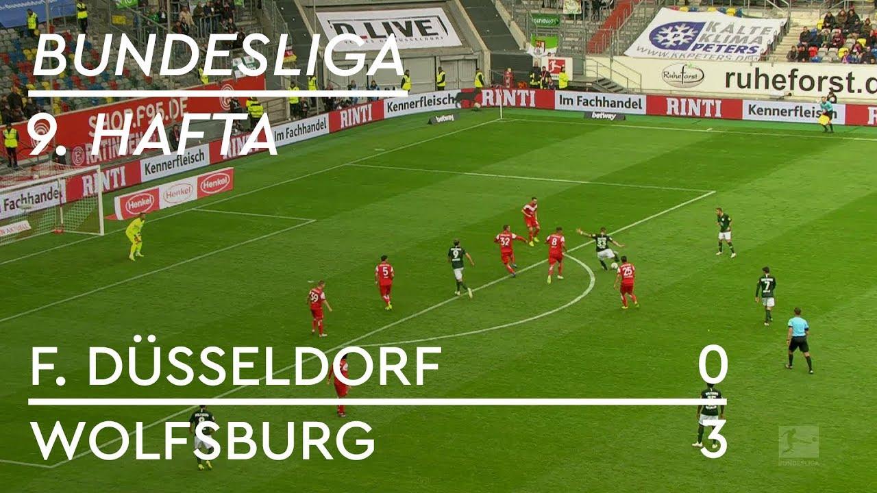 Fortuna Düsseldorf - Wolfsburg (0-3) - Maç Özeti - Bundesliga 2018/19