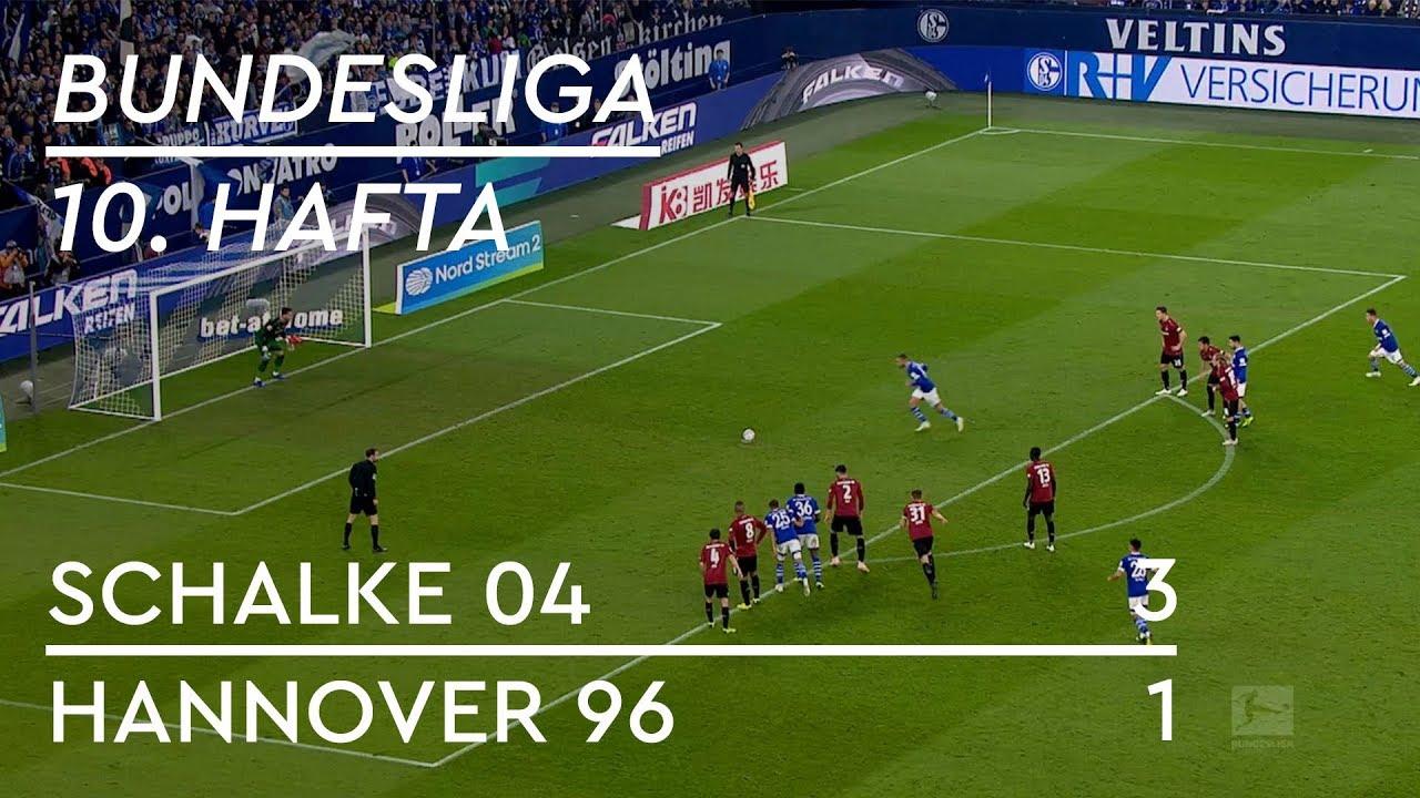 Schalke 04 - Hannover 96 (3-1) - Maç Özeti - Bundesliga 2018/19