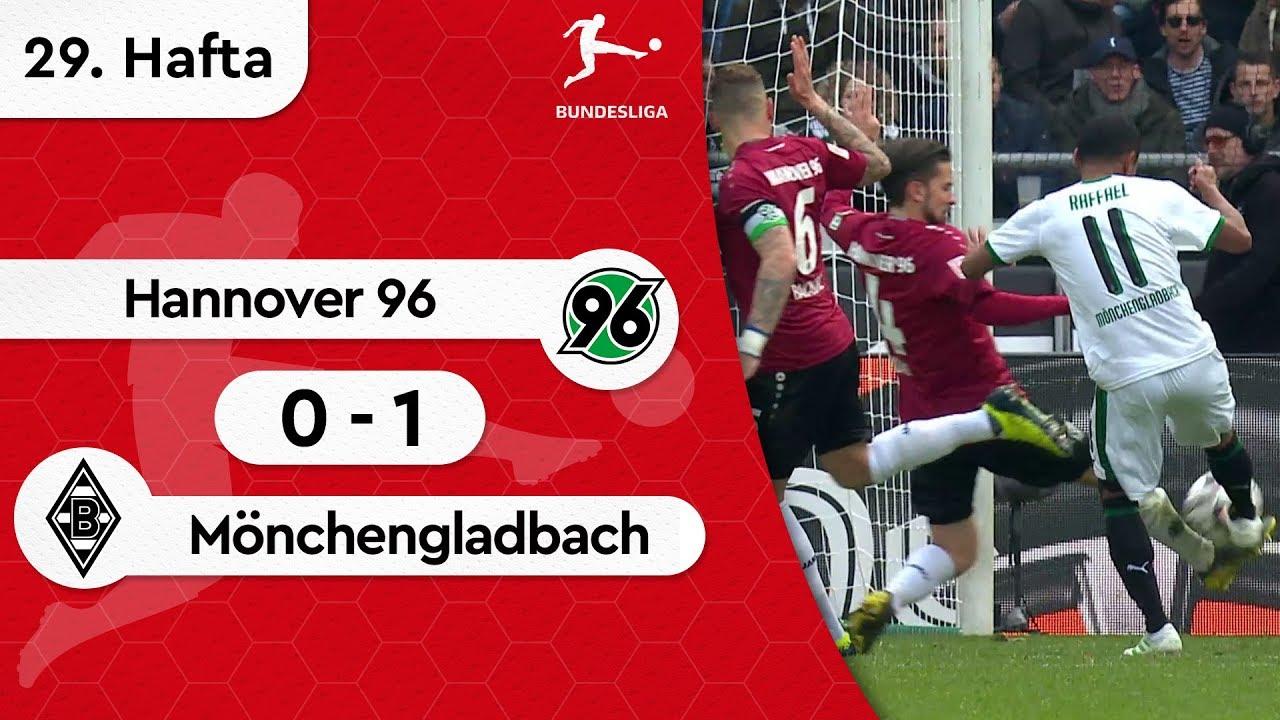 Hannover 96 - Borussia Mönchengladbach (0-1) - Maç Özeti - Bundesliga 2018/19