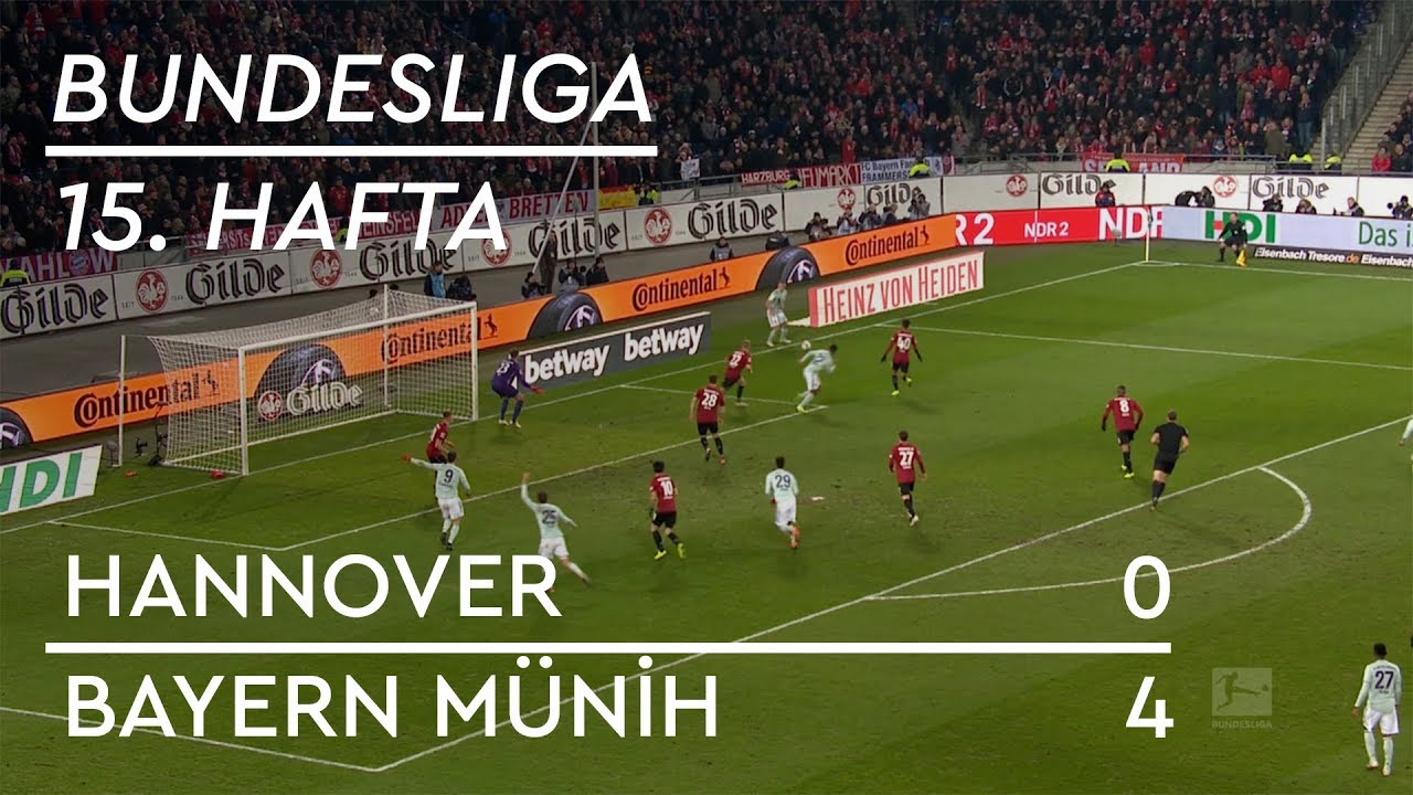 Hannover - Bayern Münih (0-4) - Maç Özeti - Bundesliga 2018/19